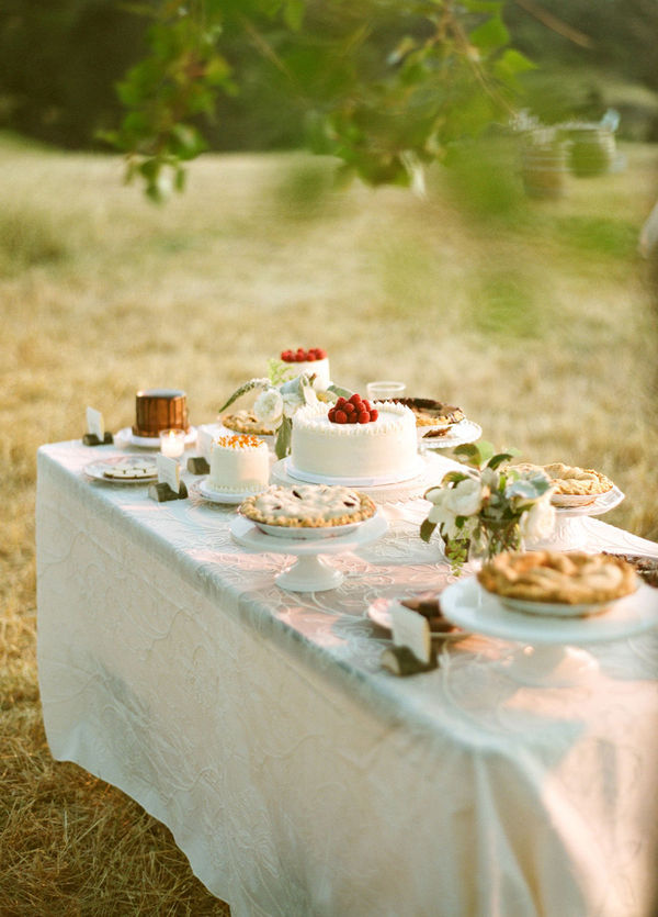 pie-cake-table-wedding